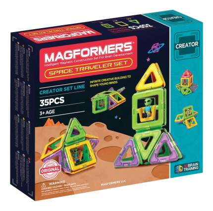 Конструктор магнитный Magformers Space Treveller 35 деталей
