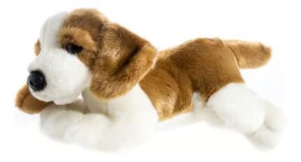 Мягкая игрушка SOYA Щенок породы бассет-хаунд, 20x9x11 см