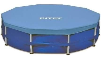 Тент для каркасного бассейна INTEX Round Metal Frame Pool Cover 457 см. (28032)