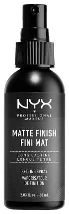 Фиксатор макияжа NYX Professional Makeup Make Up Setting Spray Matte Finish 60 мл