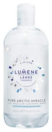 Мицеллярная вода Lumene Lähde Pure Arctic Miracle 3 in 1 Micellar Water 500 мл