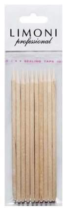 Палочки для кутикулы LIMONI Апельсиновые 10 см 10 шт