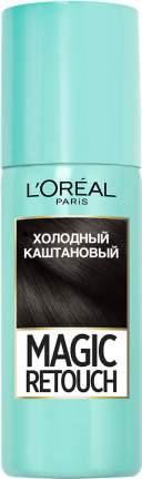 """Спрей для волос L'Oreal """"Magic Retouch"""", Холодный каштановый"""