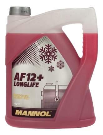 Антифриз MANNOL AF-12+ Красный -40 5л