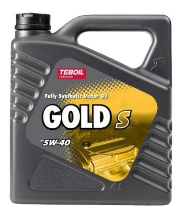 Моторное масло Teboil Gold S 5W-40 4л