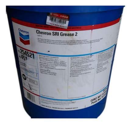 Специальная смазка для автомобиля Chevron SRI EP 2 15.9 кг