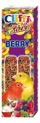 Лакомства для птиц Cliffi для канареек, палочки с лесными ягодами и медом, 60г