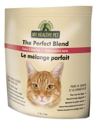 Сухой корм для кошек Holistic Blend The Perfect Blend, цыпленок, рыба, 5кг