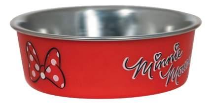 Миска Для собак Triol 750мл Нержавеющая сталь, Пластик, Резина Красный