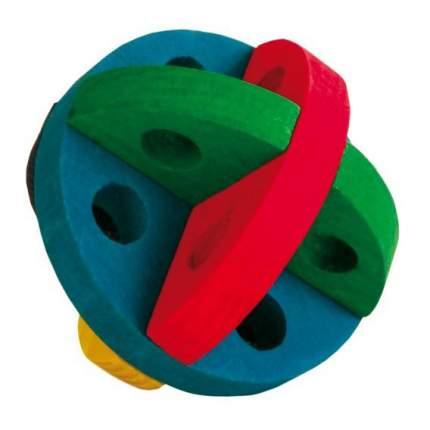 Мяч для игр и лакомств, для грызунов и хорьков Trixie, диаметр 8,5 см