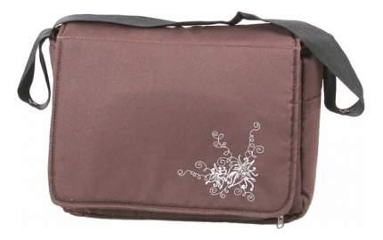 Дорожная сумка для коляски Лео Алиса с матрасиком Коричневый