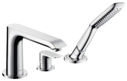 Смеситель для ванны на борт Hansgrohe Metris 31190000 хром