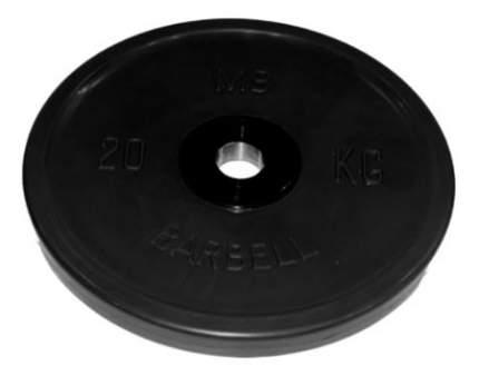 Диск для штанги MB Barbell Евро-Классик DR-MBК51-20В 20 кг, 51 мм