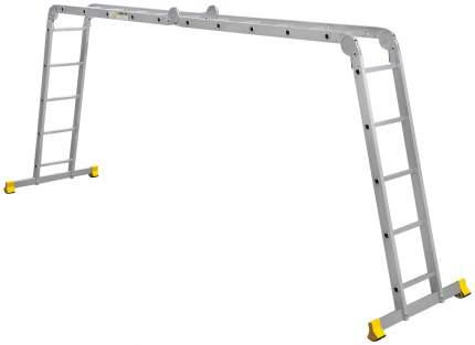 Лестница-трансформер Алюмет 4 секции по 5 ступеней
