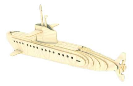 Модели для сборки Мир Деревянных Игрушек Субмарина