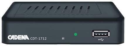 DVB-T2 приставка Cadena CDT-1712 Black