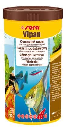 Корм для рыб Sera VIPAN, основной, хлопья, 1 л