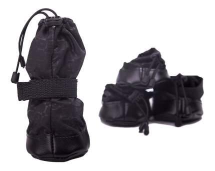 Обувь для собак OSSO размер XXL, 4 шт черный