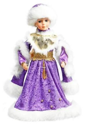 Кукла новогодняя Новогодняя сказка Снегурочка в фиолетовом 40 см