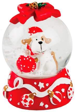 Снежный шар Kuchenland Christmas lantern Собака красная 4,5 см