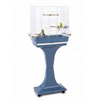 Клетка для птиц Imac CAMILLA, белый/синий, на колесах и подставке, 50х30х57/129см (03763)