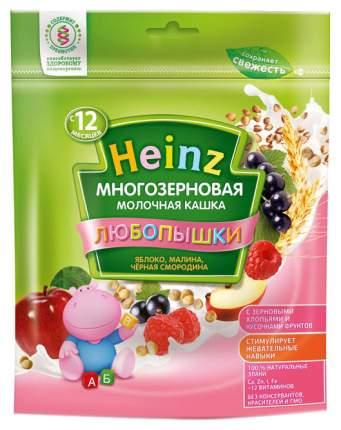 Heinz Любопышки молочная многозерновая яблоко, малина (с 12 месяцев) 200 г