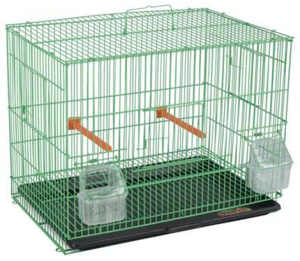 Клетка для птиц Triol 5000 50691030, 41,5х28 х32,5 см, Белая решетка/черный поддон