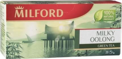 Чай зеленый Milford milky oolong 20 пакетиков