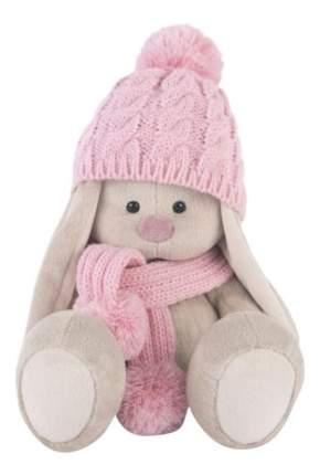 Мягкая игрушка BUDI BASA Зайка Ми в Розовой Шапочке и Шарфе Большая Sidm-203