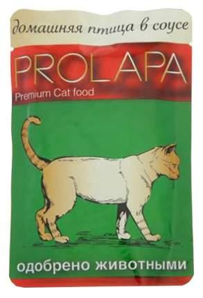Влажный корм для кошек Prolapa, домашняя птица, 100г
