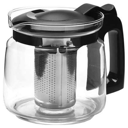 Заварочный чайник Mayer&Boch 27671 Прозрачный, черный, серебристый