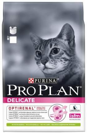 Сухой корм для кошек PRO PLAN Delicate, при чувствительном пищеварении, ягненок, 3кг