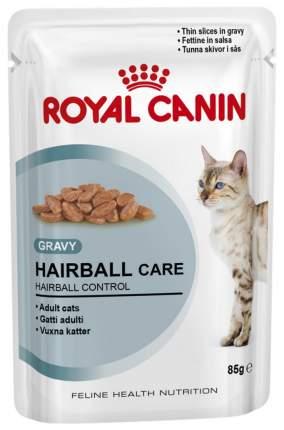 Влажный корм для кошек ROYAL CANIN Hairball Care, мясо, 12шт, 85г