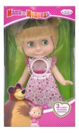 Кукла Маша и медведь День Рождения 25 см Карапуз 83033a