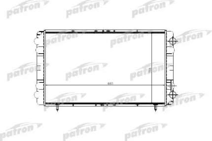 Радиатор охлаждения двигателя PATRON PRS3200