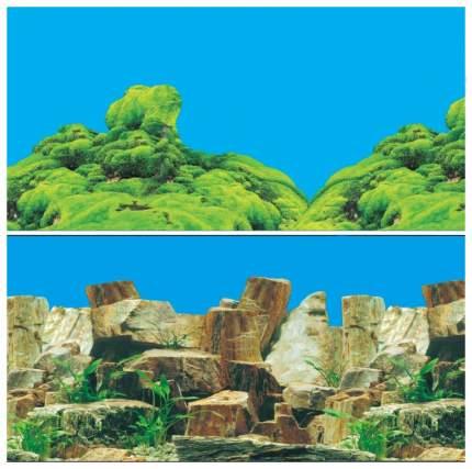 Фон для аквариума Laguna Каменное многоцветье/Морской каньон 1,022 кг размер 60х1500 см