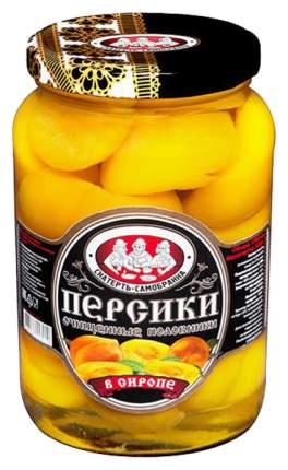 Персики Скатерть-самобранка половинки в сиропе 1700 мл