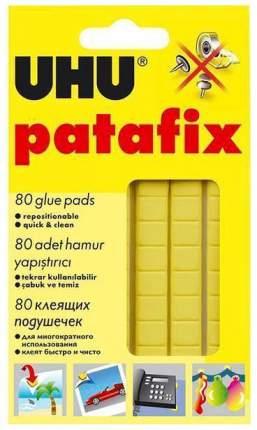 Клейкие подушечки UHU Patafix 80 шт Желтый