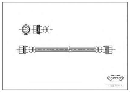 Шланг тормозной системы Corteco 19032531