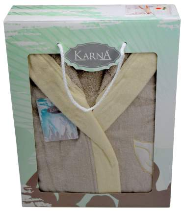 Халат банный KARNA SNOP 2823 цвет Бежевый
