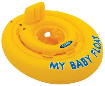 Круг для купания Intex Мой маленький плот 56585 надувной с трусами