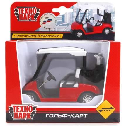 Машинка Технопарк гольф-кар металлическая инерционная в ассорт, 12 см