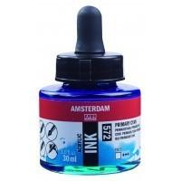 Акриловые чернила Royal Talens Amsterdam №572 голубой 30 мл