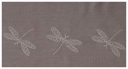 BOVI Классические шторы Garden Цвет: Бежевый