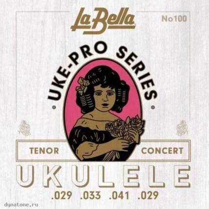 Струны для укулеле тенор LA BELLA Set 100 Tenor/Concer