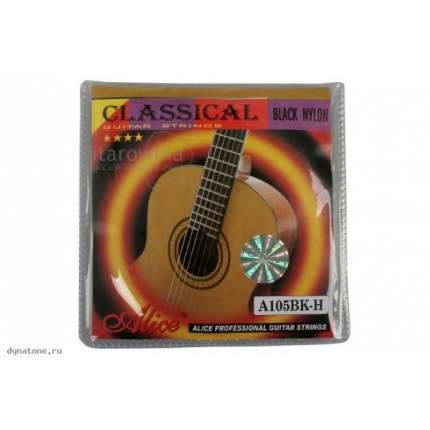 Струны для классической гитары ALICE A105BK-H
