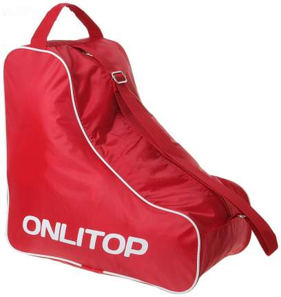 Сумка для коньков и роликов Onlitop красная