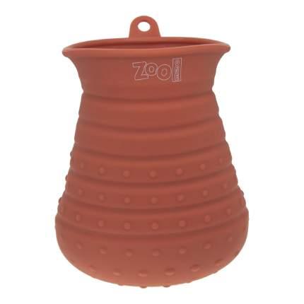 Лапомойка для собак ZooOne 21033 большая ,силикон, красный