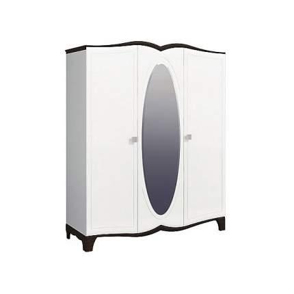 Платяной шкаф Мебель-Неман Тиффани NEM_tiffany_MH-122-04 182x62x220, белый/венге