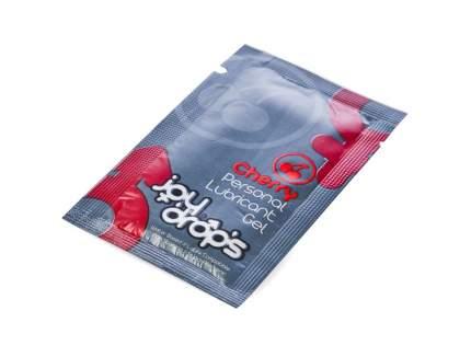 Пробник гель-смазки JoyDrops Cherry на водной основе 5 мл